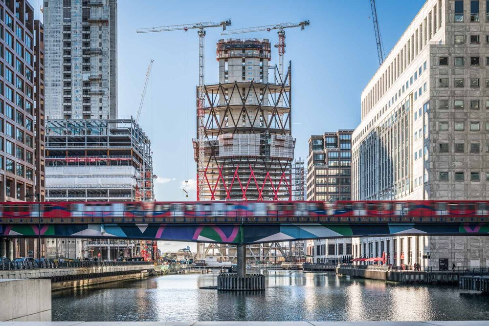 Newfoundland Quay, Canary Wharf, London - Horden Cherry Lee Architects