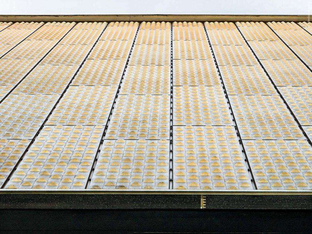Berliner Philharmonie, Fassadendetail - Hans Scharoun