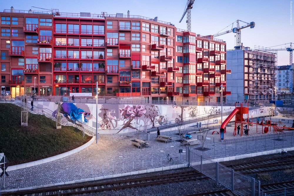 Wohnungsbau Am Lockdepot, Berlin - ROBERTNEUN Architekten, 2014