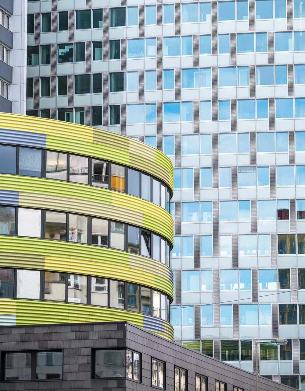 GSW Hochhaus Friedrichstrasse Berlin - Sauerbruch Hutton Architekten