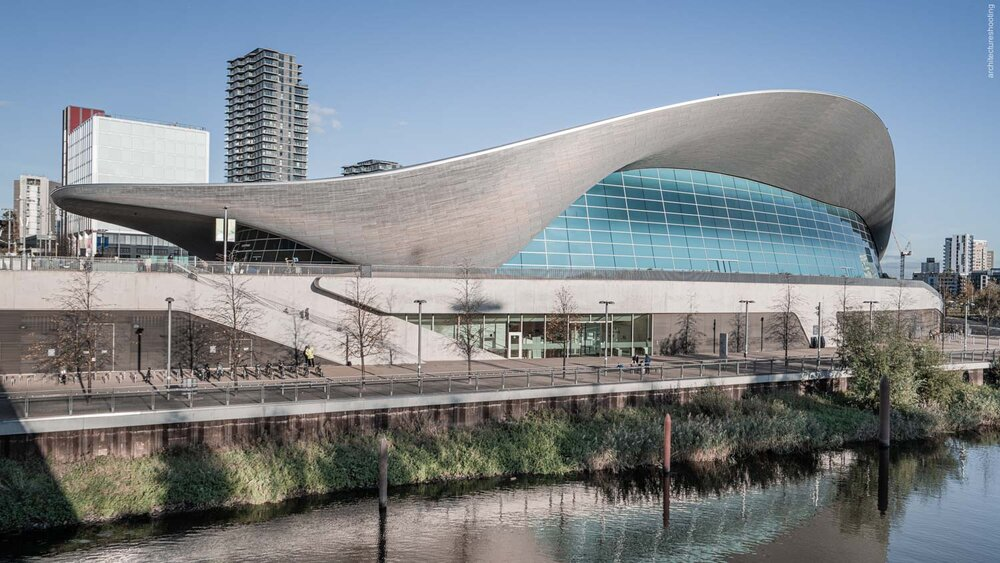 London Aquatics Centre, London - Zaha Hadid 2012