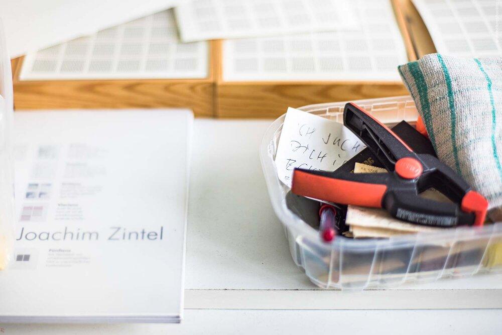 Dokumentation Atelierwohnung Joachim Zintel, Berlin