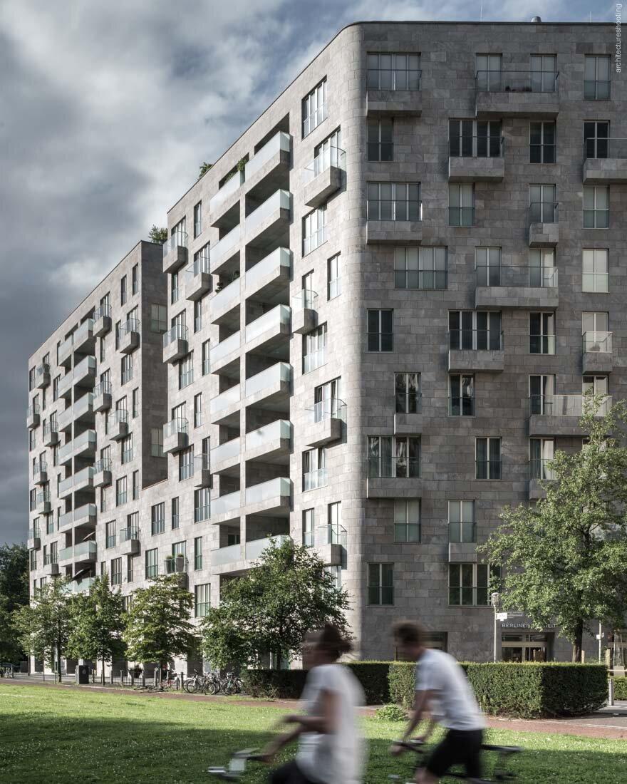 Parkside Apartments, Berlin - David Chipperfield