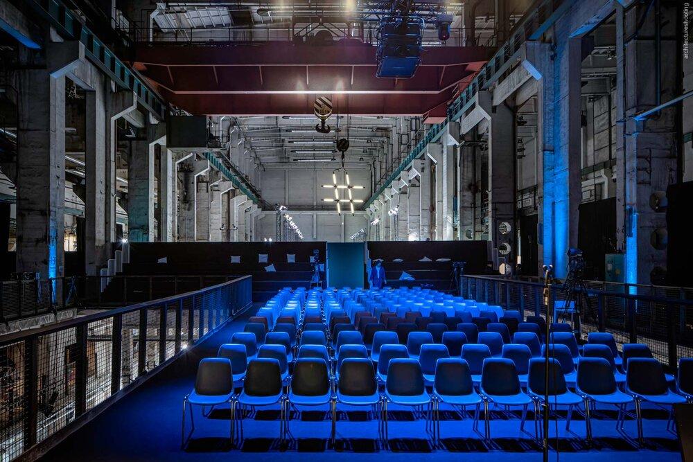 NEONYT 2019 set design im Kraftwerk Berlin - UNDPLUS Berlin