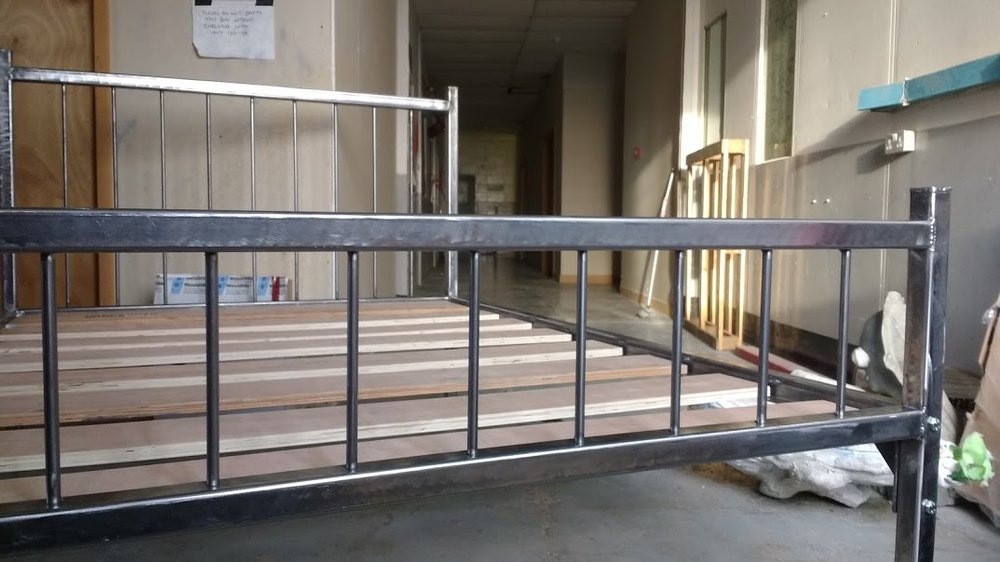 Steel Bed £500