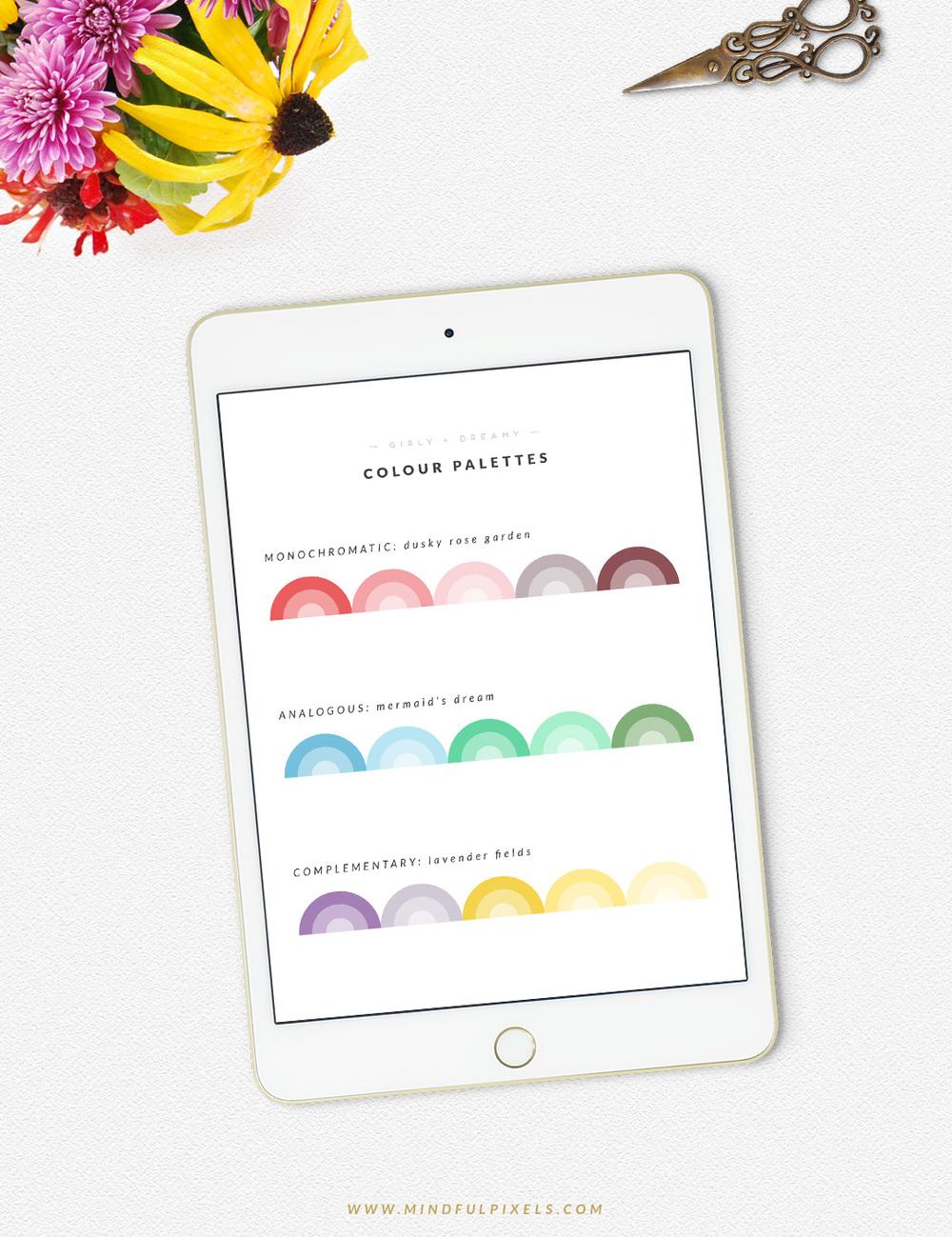 How to choose your colour palette - Part 2: Pick your colours