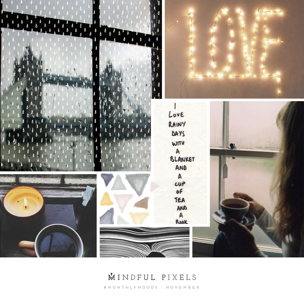 12 Mood Boards for Every Month of the Year - The #MontlyMoods Project | Mindful Pixels