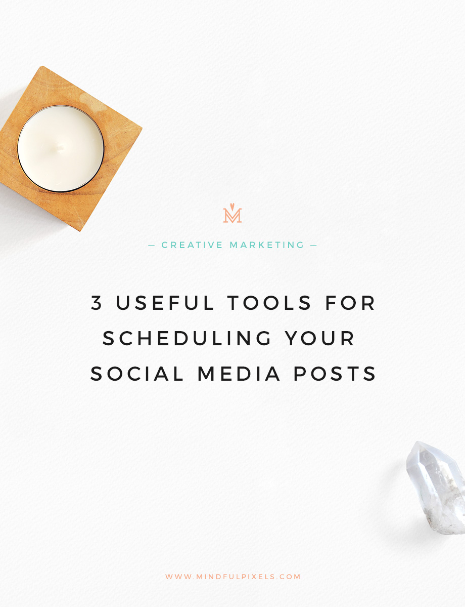 3 useful tools for scheduling your social media posts when you are just starting your business