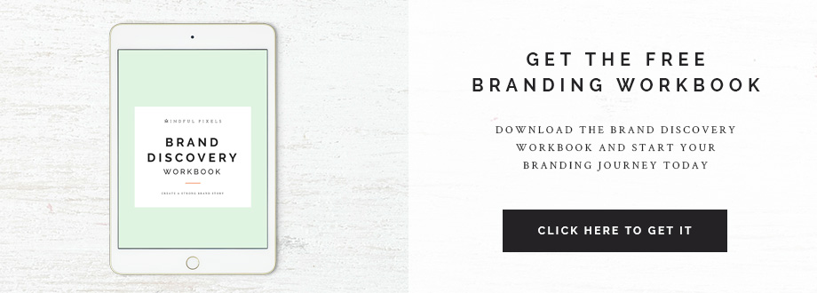 Get the FREE Brand Discovery Workbook