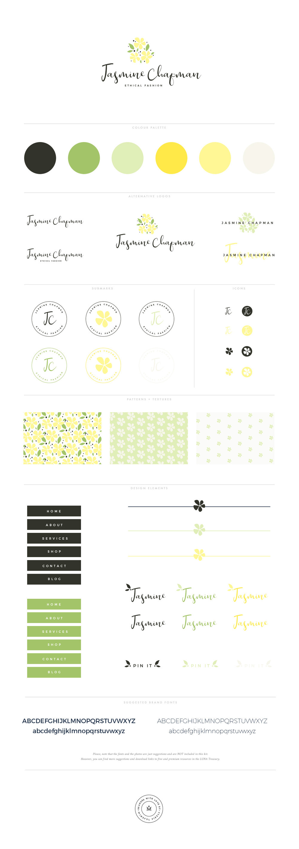 Premade Branding Kits by Mindful Pixels
