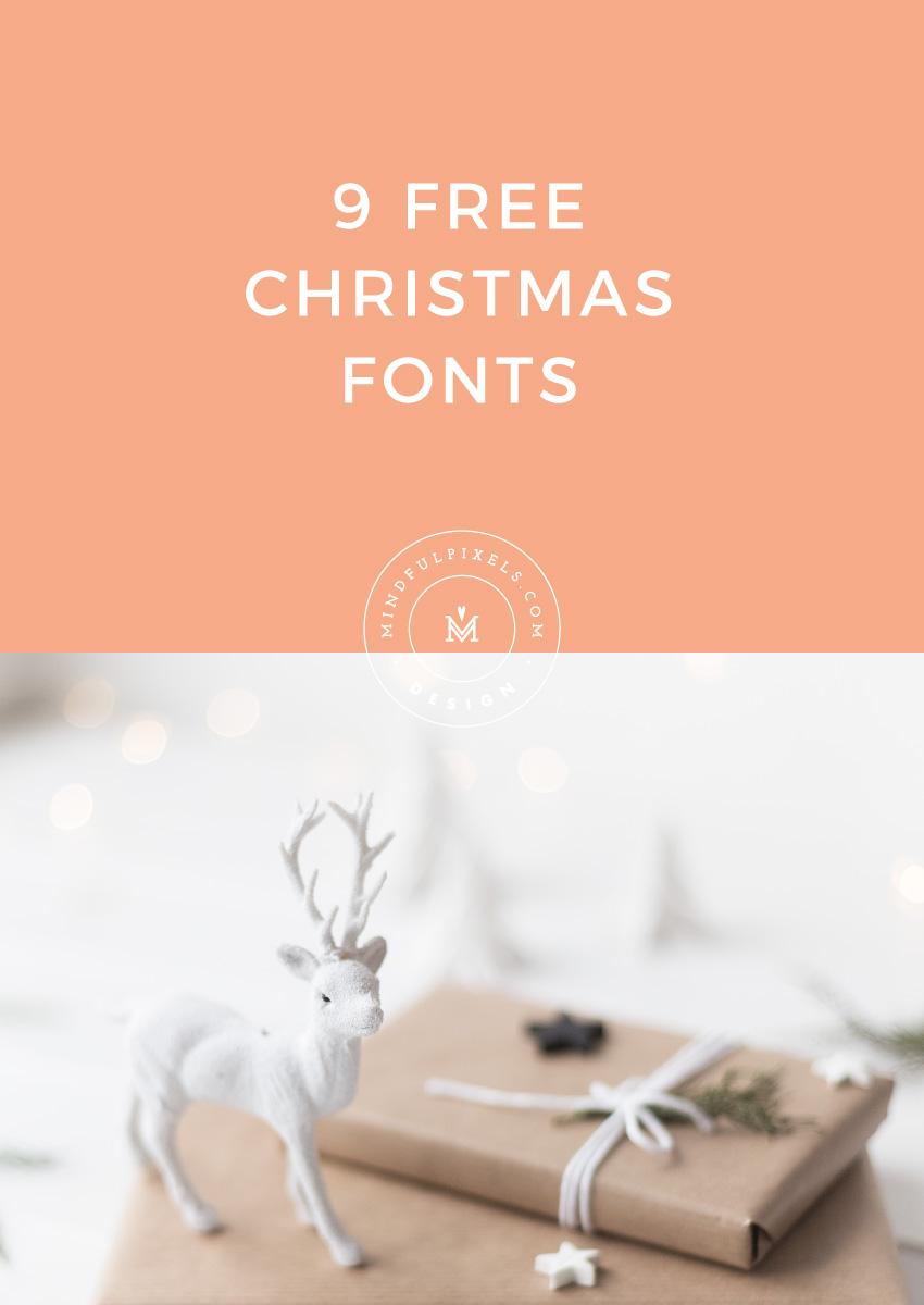 9 Free Christmas Fonts