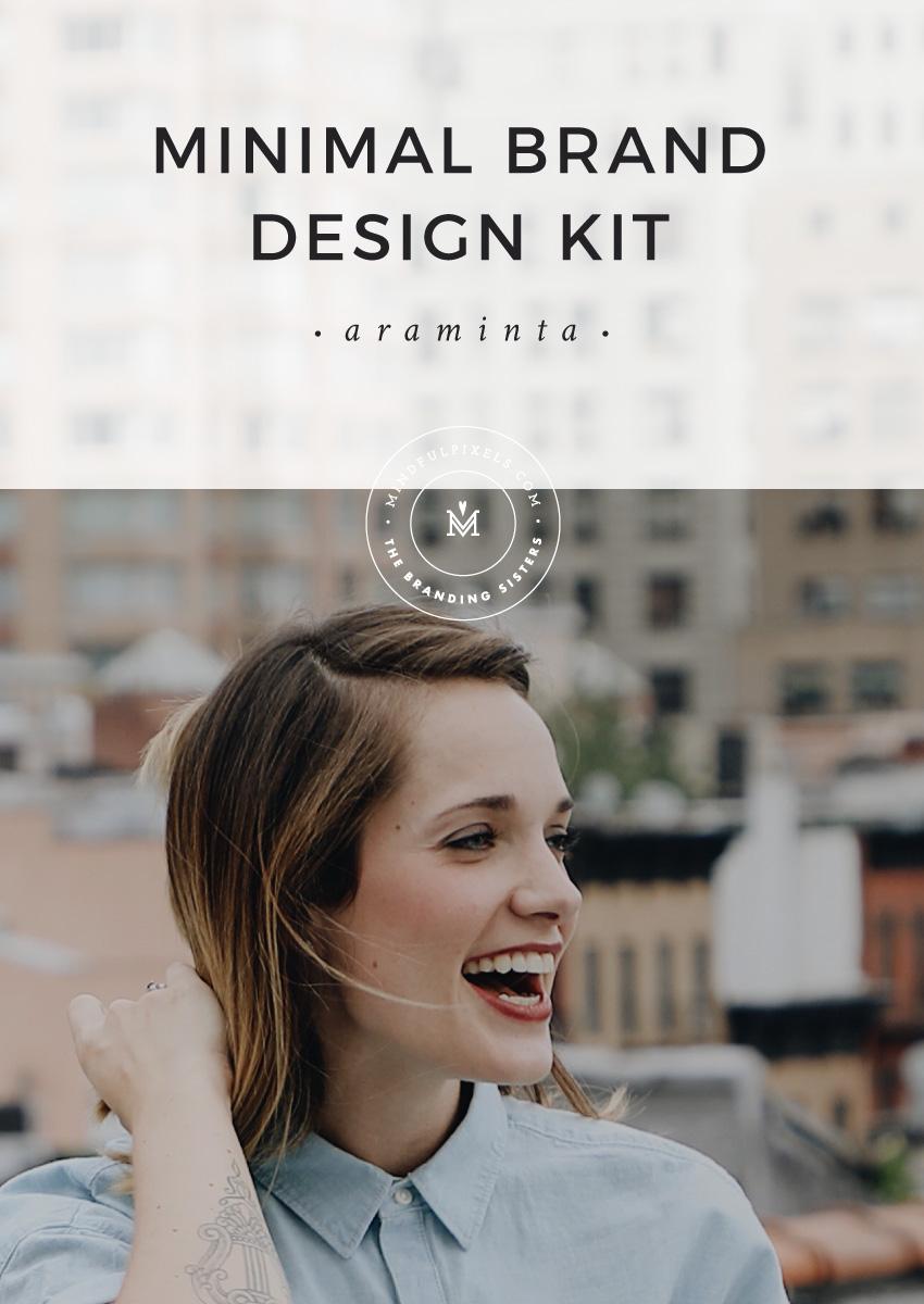 Minimal Brand Design Kit ~ Araminta