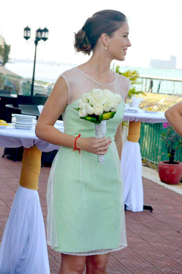 Cabries Green Bridesmaids Bell Street Bridal