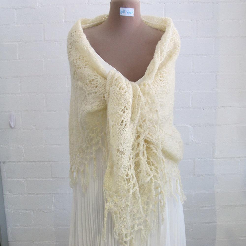 Joan's shawl, $40