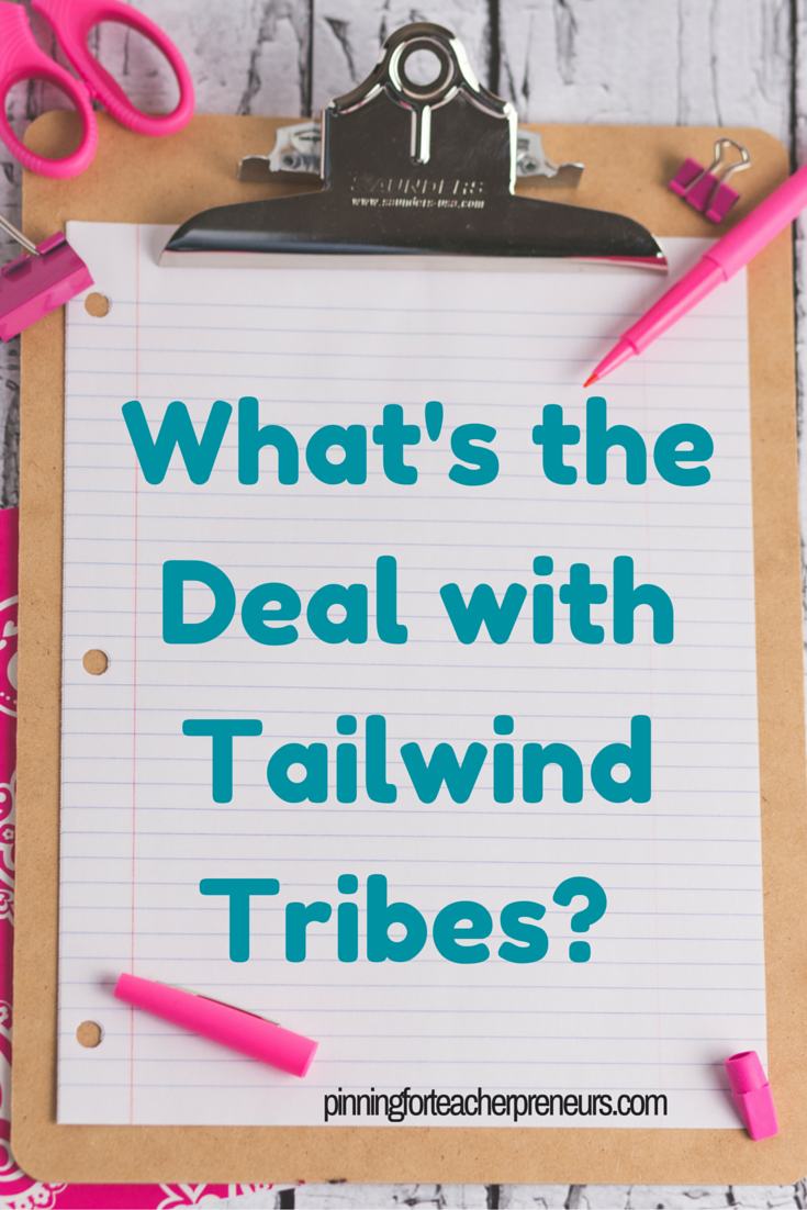 Tailwind Tribes for Teacherpreneurs