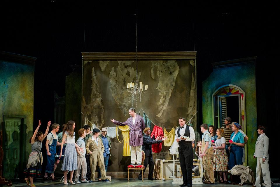 Conte in Le nozze di Figaro - Hackney Empire (Credit - Robert Workman)
