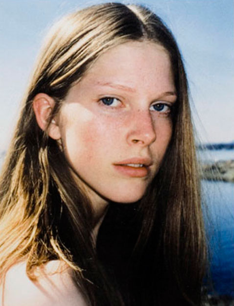 First test shoot summer 2000, at Huk beach in Oslo.   Portrait by Camilla Isene.