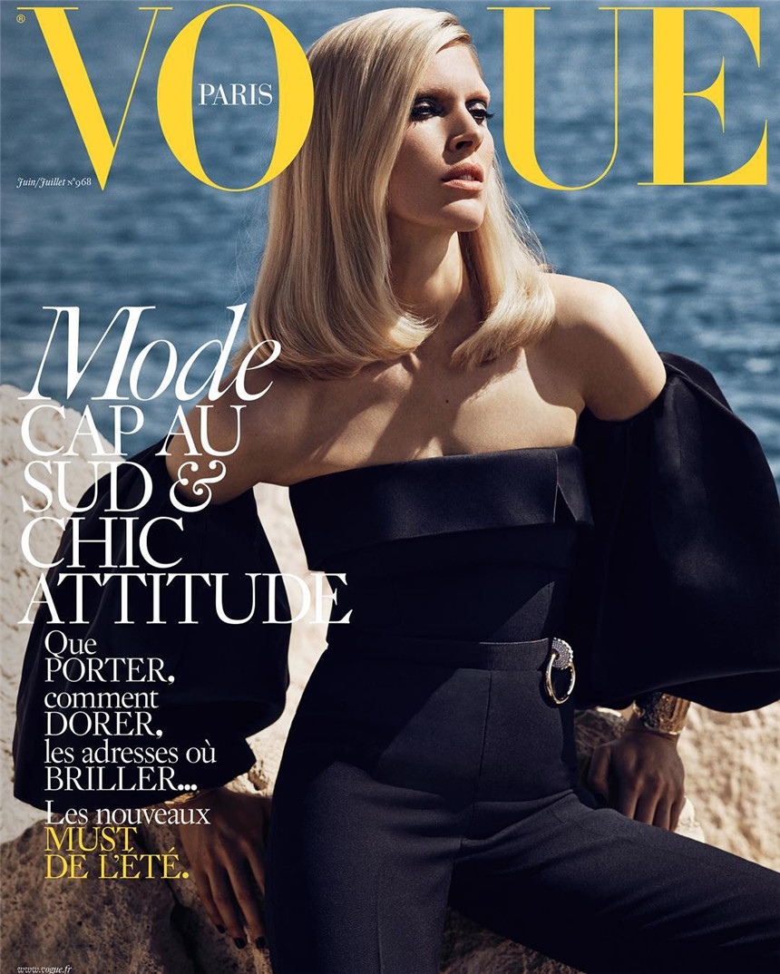 Iselin Steiro-on-the-cover-of-Vogue-Paris_Mikael Jansson.jpg