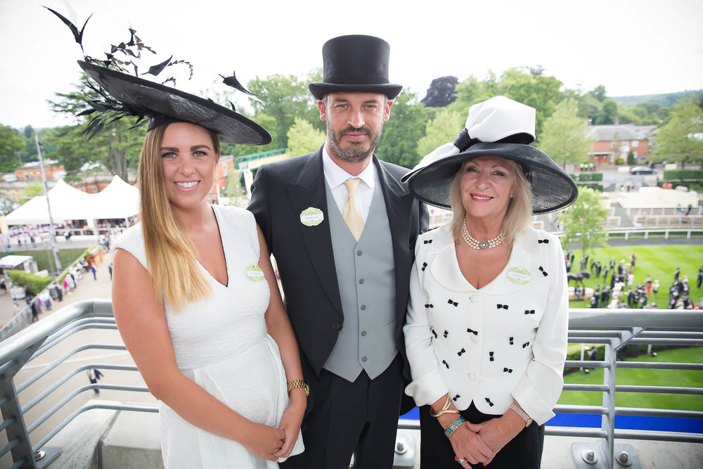 Ascot is an extremely formal event, patrons don the finest attire each year (Credit: Tara)