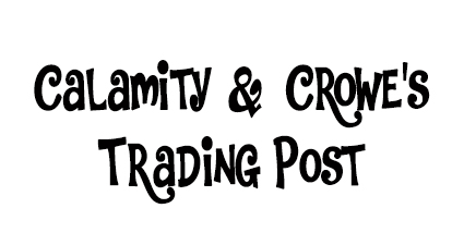 "CALAMITY & CROWE'S TRADING POST   We have partnered with C&C for three years running and it has proved to be a great choice. ""Handmade artisan tie dyes, screen printing, & custom music inspired designs"" C&C are our official and exclusive t-shirt designers, producers and vendors for the Oxbow Music Festival t-shirts and stage hung tapestries."
