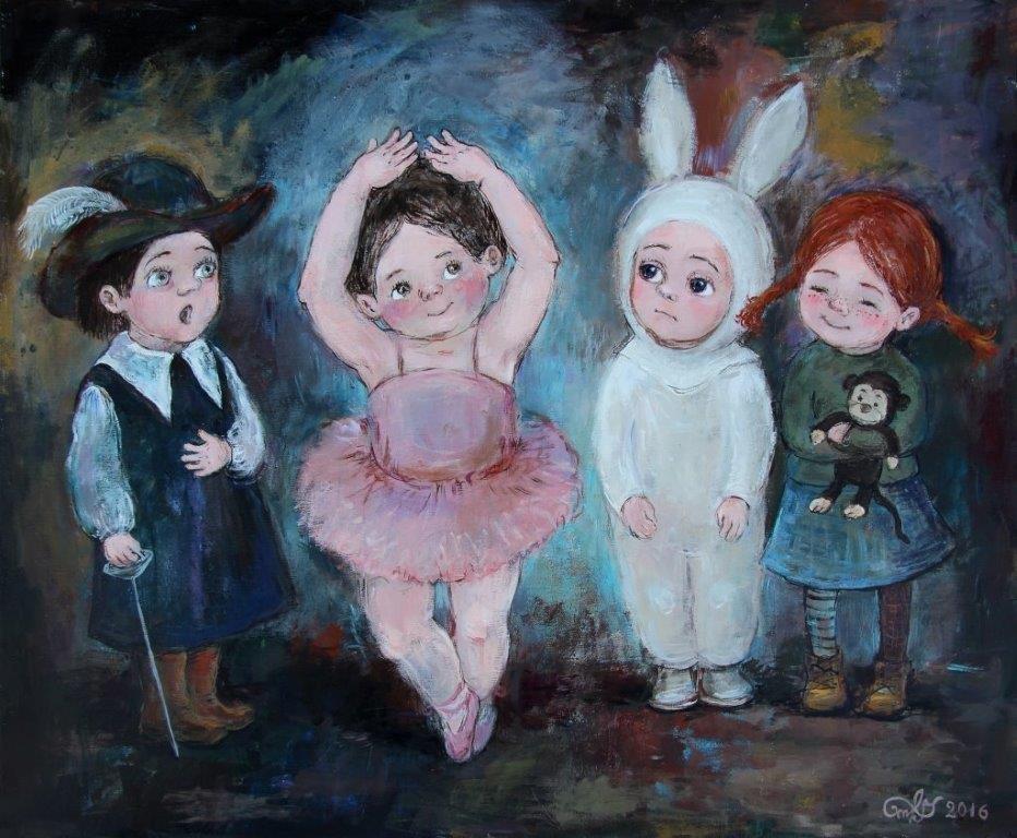 """N. Chakvetadze """"Rožinė balerina"""""""