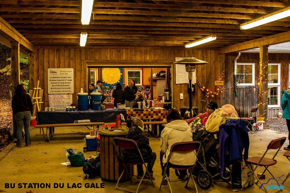 BU STATION DU LAC GALE (NICOLE BOUTIN)