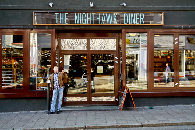 The Nighthawk Diner, Oslo.