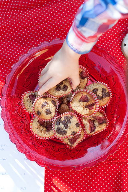 Pancake muffins. Pannkaksmuffins. Det blir bara pannkaka.