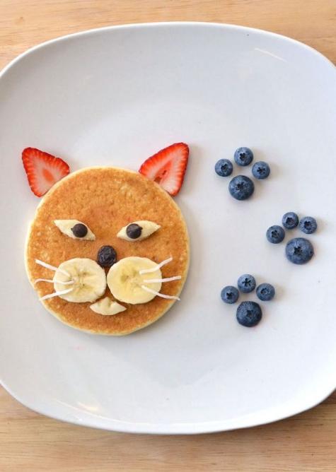 Slutligen ett tips till dig som gillar att  leka med maten . Meow!