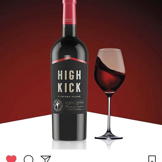 High Kick Red! Created for @fredrikeklundny Available in Sweden now! 🍷🕺#highkick #wine #italianstyle #italy