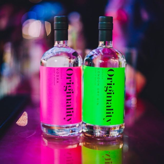 @originalitylondon Hot off the press and landing on shelf @ @fortnums next week! #creativespirit #gin #cocktails #brightideas #design #branding #mixology