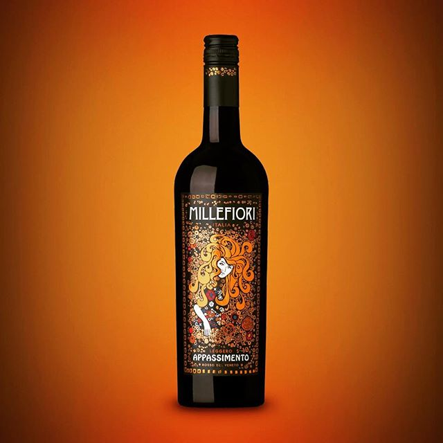🍷🖌️🤺 our refresh of Millefiori #design #wine #veneto #illustration