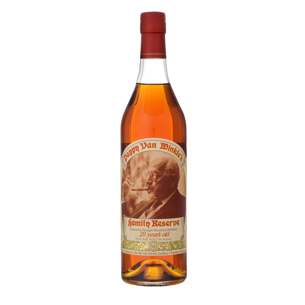 This will probably be as close as I get to Pappy Van Winkle straight bourbon whiskey.