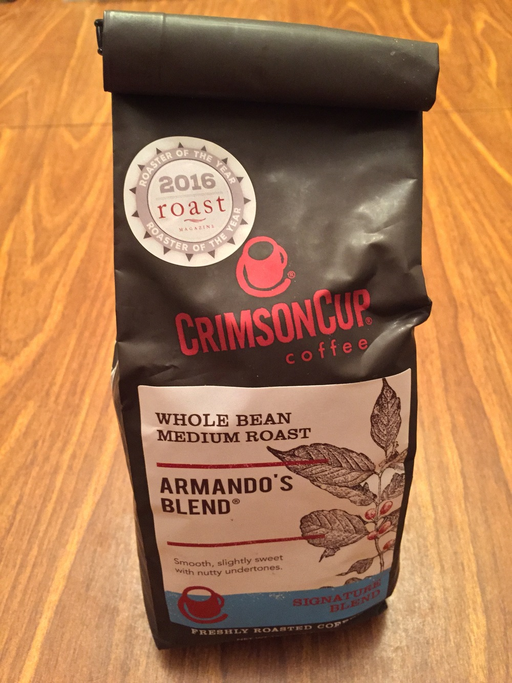 The Crimson Cup medium roast is the bean of choice at Java Joint. It'll give you Chuck Yeager power for your next bike ride.