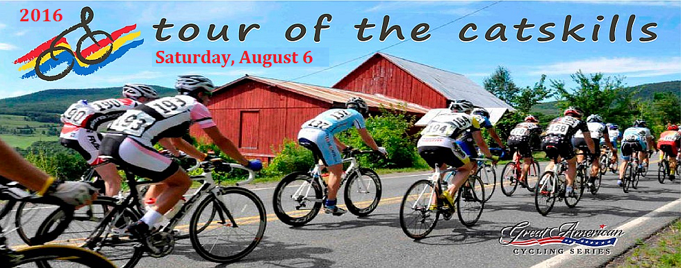 Mark your calendar for August 6th to ride through Upstate New York.