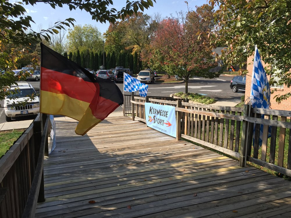 German and Bavarian flags greeted each finisher whilst adorning the entrance to Appalachian Brewing Company. The event marked a remarkable beautiful day and wonderful outing.