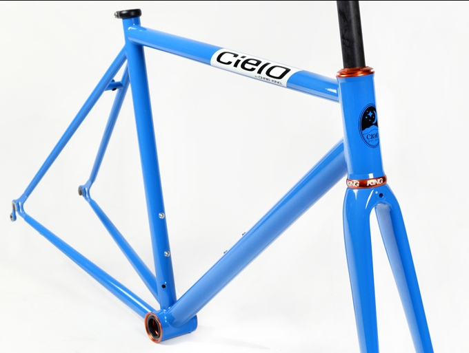 Another website-matched color scheme? We couldn't turn this Cielo Road Racer frameset down either.