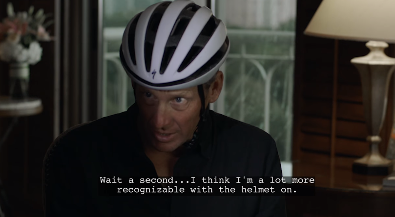 "Tour de Pharmacy includes a massive cast of actors and this one ""Anonymous Informant."""