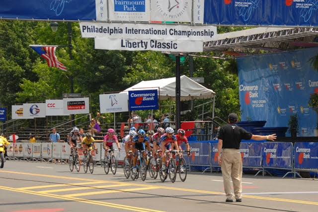 Managing the Finish Line of the 2007 Philadelphia International Championships