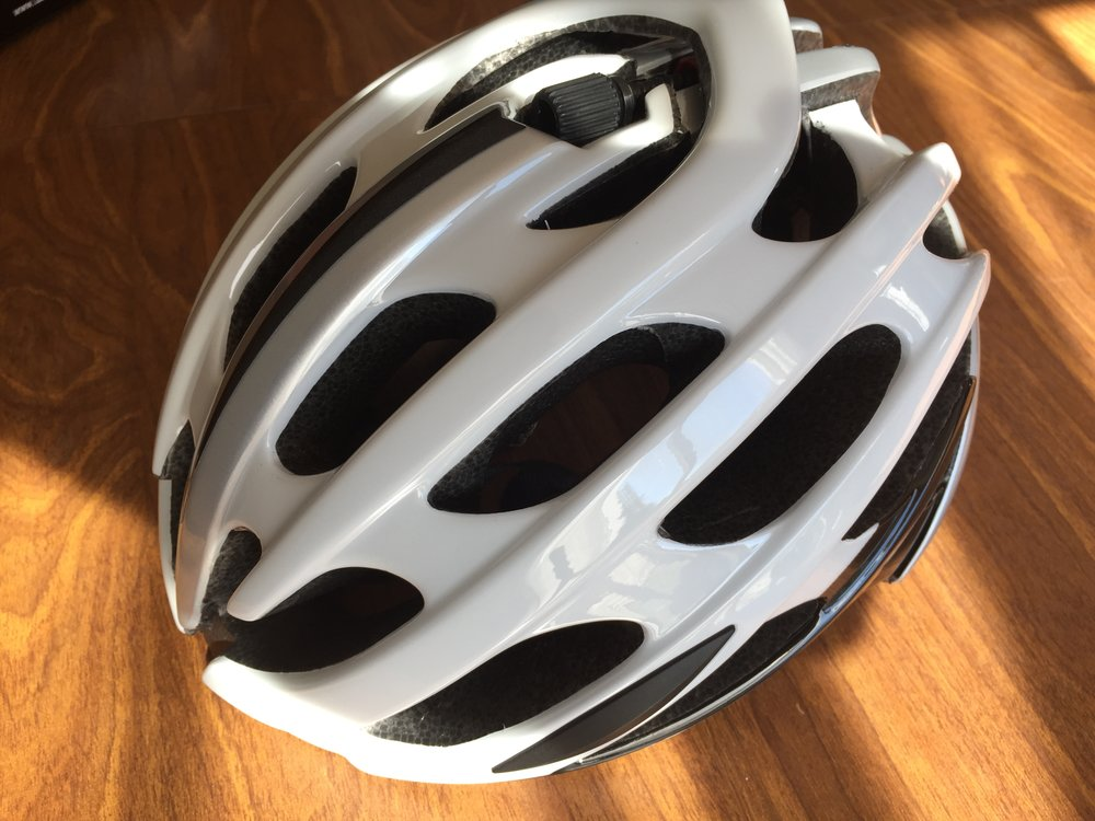 The Lazer Blade+ continues the same look as previous Lazer helmet designs, including the Rollsys technology.