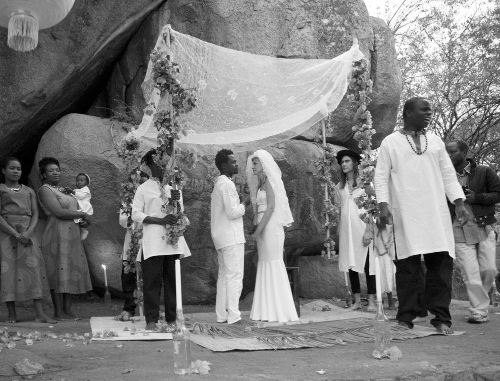 The Chuppah and The Shaman, August 20, 1972, 2017