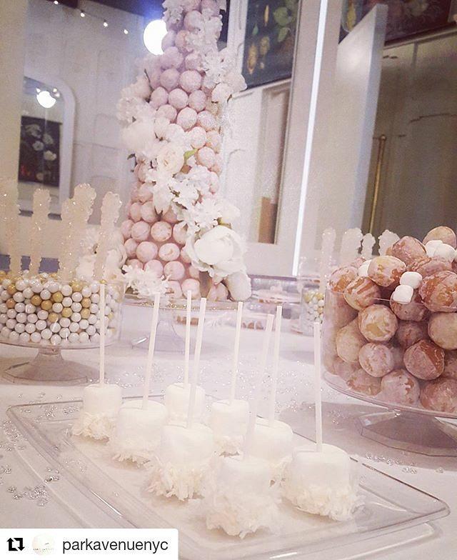 #Repost @parkavenuenyc ・・・ Brunch dessert spread courtesy of @keyholedoughnuts #brunch #privateevent #banquet #sundaybrunch #qualitybranded