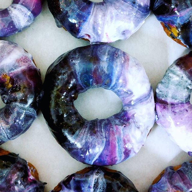 These galaxy doughnuts though 🌌🌌🌌🌌🌌🌌🌌🌌🌌🌌🌌
