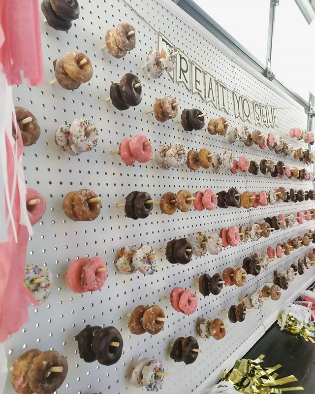 Happy Monday!  Here's a doughnut wall to start your week!