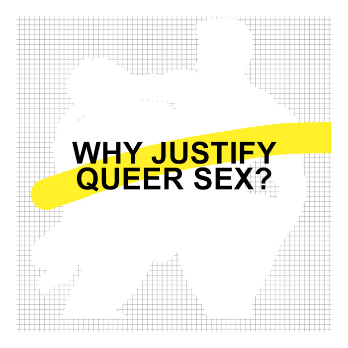 Taking visual cues from this project, I also worked on an exhibition called: Justification. This exhibition uses the same visual looks and graphics but instead of sex. I look at the need to justify my queer self. in my queer work at university needed lots of justification for using pornographic images to my govenment having a public and expensive plebesite that allowed others to believe they should have an opinion on my rights to have a realtionship.