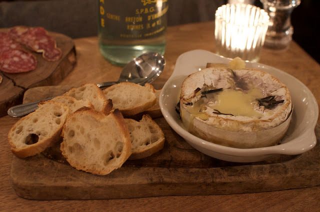 Patron cave a manger review baked cheese starter