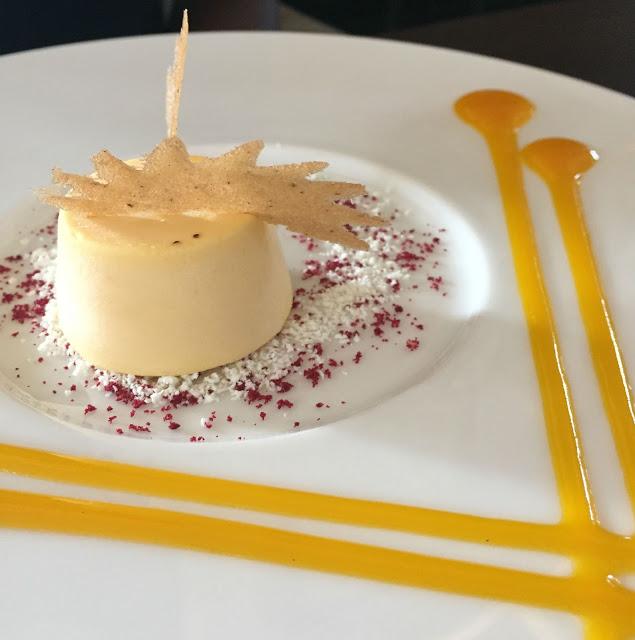 Mango Kulfi dessert at Zaika Kensington