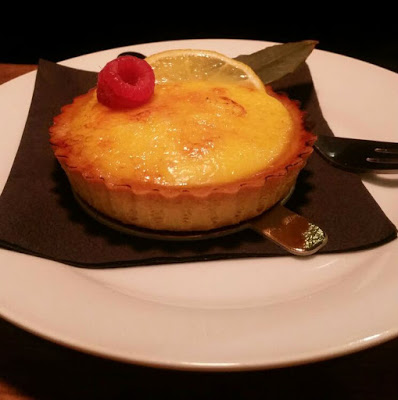 Lemon tart desserts at Pasta Remoli - review