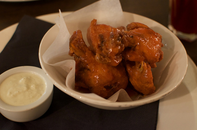 Chicken wings at VOC - review