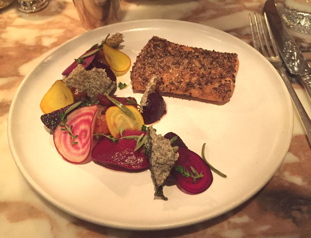 Chiltern Firehouse main course - review